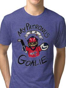 My Patronus is a Goalie (WSH Edition) Tri-blend T-Shirt