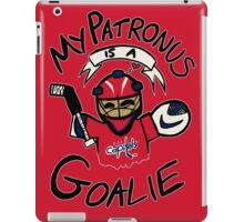 My Patronus is a Goalie (WSH Edition) iPad Case/Skin