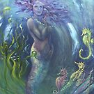 Pearl - water goddess by Cheryl White