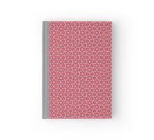 Pattern 515 - Red and Grey Hardcover Journal