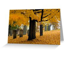 """Fallen"" Greeting Card"