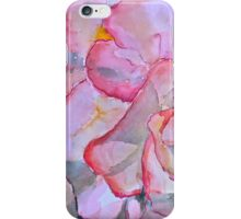 Peachy begonia iPhone Case/Skin