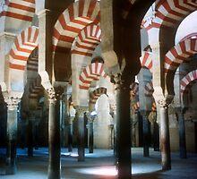 Mezquita, Cordoba in Spain by Christina Backus