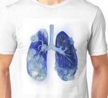 Floral Gasp Unisex T-Shirt