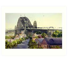 The Rocks, Sydney Art Print