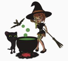 Cauldron Witch Shirts & Stickers Kids Clothes