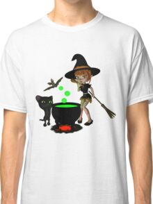 Cauldron Witch Shirts & Stickers Classic T-Shirt