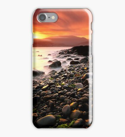 Sun kissed rocks iPhone Case/Skin