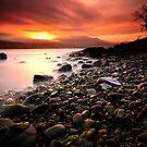 Sun kissed rocks by lee Henley