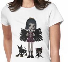 Decadent Discordia Shirts & Stickers Womens Fitted T-Shirt