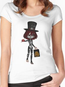 Trick or Treat Shirts & Stickers Women's Fitted Scoop T-Shirt