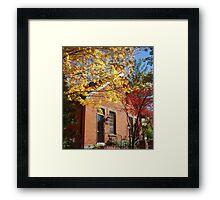 Framed by Color Framed Print