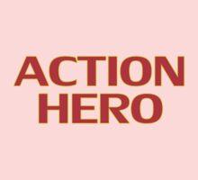 Action Hero -T-Shirt Sticker Baby Tee