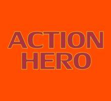 Action Hero -T-Shirt Sticker Kids Clothes