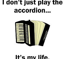 Accordion It's My Life by GiftIdea