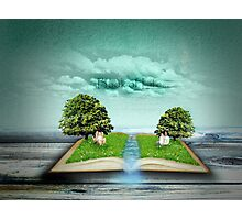 Book of life Photographic Print