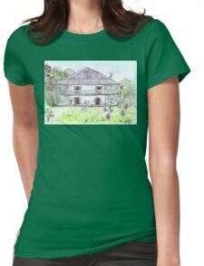 Doctor's House, Old Leprosy Colony, Curieuse Island Womens Fitted T-Shirt