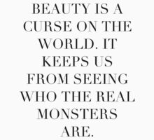 Simplistic Quote - On: Beauty by foulemilch