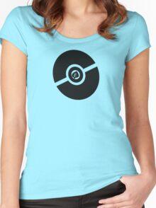 Pokemon Pokeball Grass Women's Fitted Scoop T-Shirt
