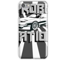 Ford Probe Gt Nation (3/4 View, Perspective Stripes) iPhone Case/Skin