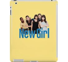 new girl | idiots iPad Case/Skin