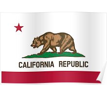 State Flags of the United States of America -  California Poster