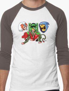 Mashup of the Universe Men's Baseball ¾ T-Shirt