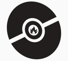 Pokemon Pokeball Fire  One Piece - Short Sleeve