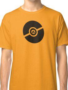Pokemon Pokeball Fire  Classic T-Shirt