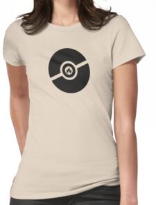 Pokemon Pokeball Fire  Womens Fitted T-Shirt