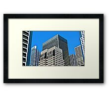 San Francisco Building Volume Framed Print