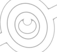 Pokemon Pokeball Dark Sticker