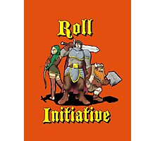 Roll Initiative Photographic Print