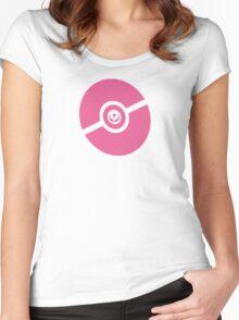 Pokemon Pokeball Fairy  Women's Fitted Scoop T-Shirt