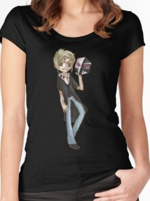 Shuuya Kano Women's Fitted Scoop T-Shirt