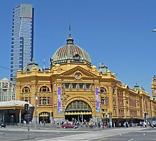 Century Apart - Flinders and Eureka by TonyCrehan