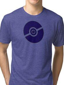 Pokemon Pokeball Ghost  Tri-blend T-Shirt