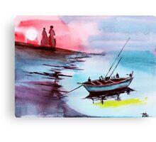 Back to Pavilion Canvas Print