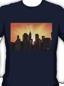 Sunset in New York City T-Shirt