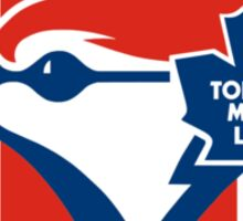 Toronto Maple Jays - Blue Leafs Sticker