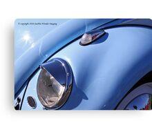 Blue Bug Eye Canvas Print
