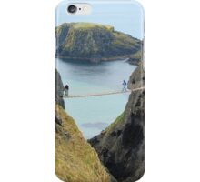 Carrick-a-Rede Rope Bridge iPhone Case/Skin