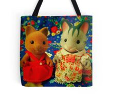 Sylvanian Families ~ Bright Cats Tote Bag