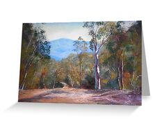 'High Country Track' Greeting Card