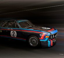 1974  BMW 3.0 CSL Batmobile by Lightrace