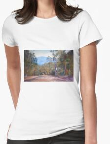 'High Country Track' Womens Fitted T-Shirt