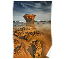 Evening at Aireys Inlet Poster