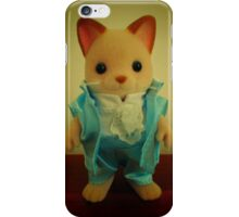 Sylvanian Families ~ Cat Wedding Groom iPhone Case/Skin