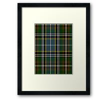 00183 Clodagh/Cork District Tartan  Framed Print