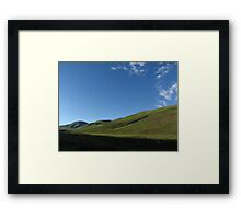 Rising Up Out of the Shadows Framed Print